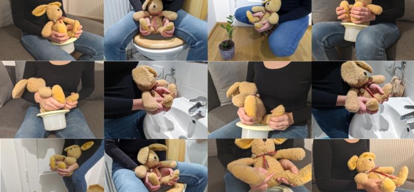 """""""Baby abhalten in Bildern: Die besten Abhaltepositionen für ein entspanntes Windelfrei"""" auf Windelfreibaby.de, (c) Windelfreibaby"""