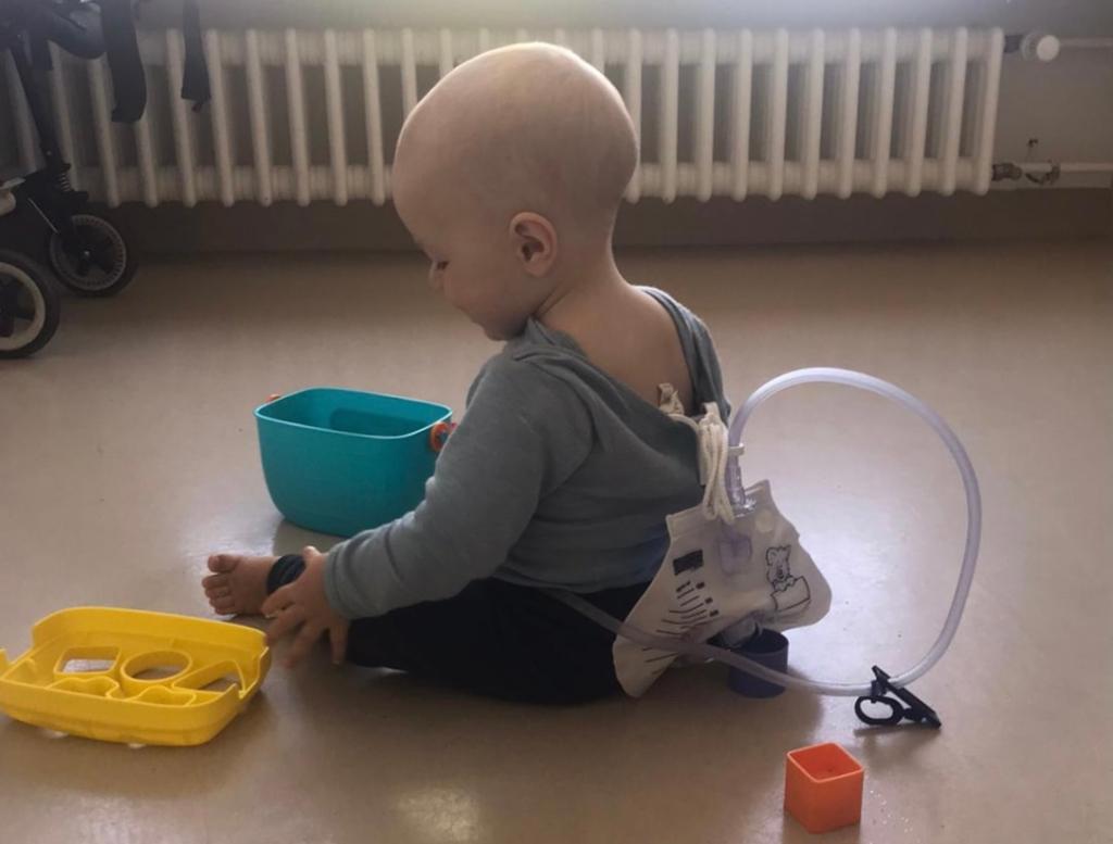 Trotz Beeinträchtigung ist Windelfrei möglich: Karos Sohn hat eine Fehlbildung der Harnröhre, Bild (c) Karo Vitellaro